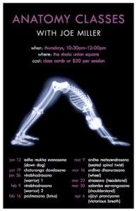 Shala anatomy class poster